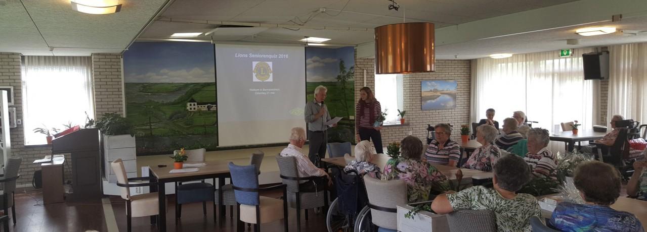 Seniorenquiz in Bernissesteyn